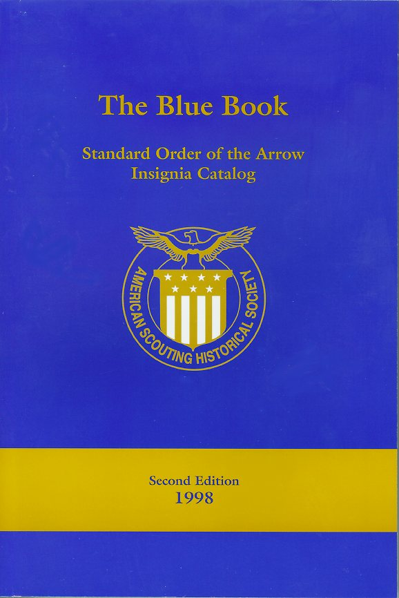 Boy Scout OA Blue Book Standard Insignia Guide cover