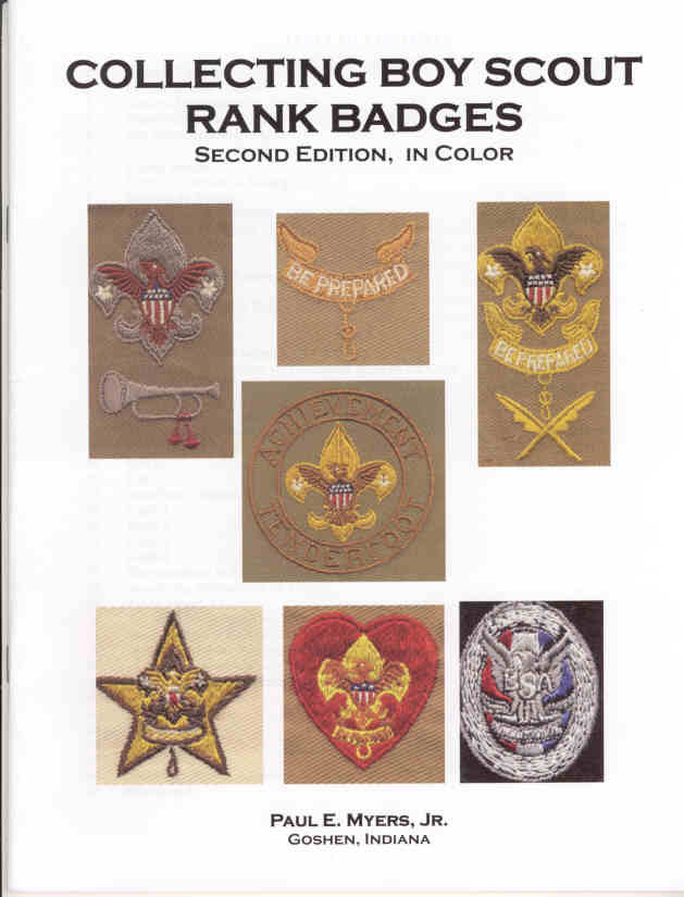 Collecting Boy Scout Rank Badges book cover