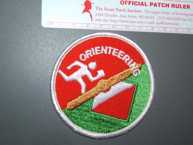 1985 Jamboree Orienteering participant patch