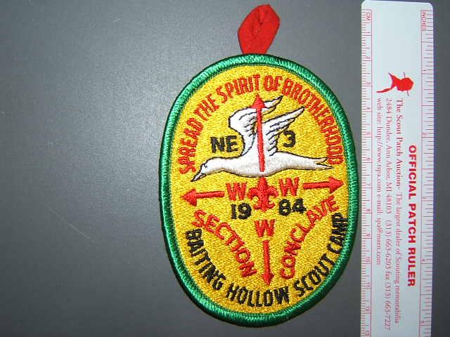 NE-3 1984 Conclave