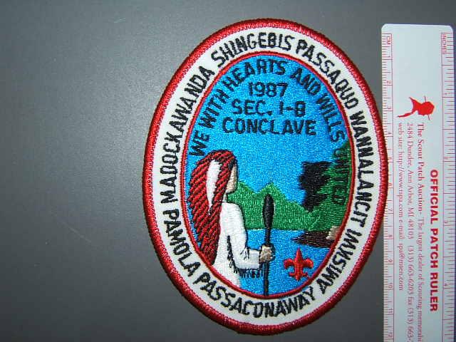 NE-1B 1987 Conclave