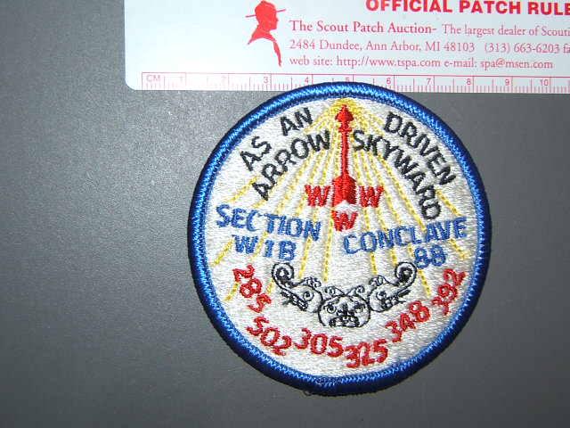 W-1B 1988 Conclave
