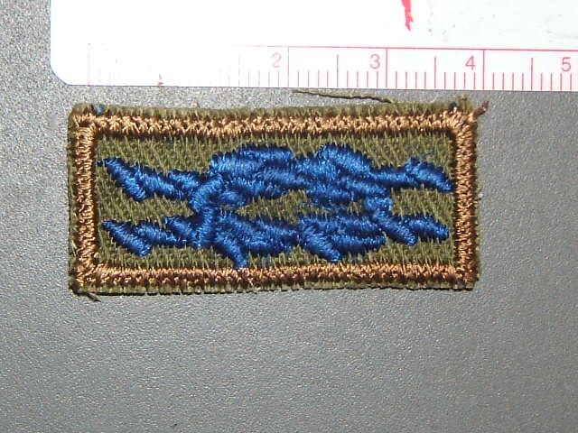 Quatermaster square knot