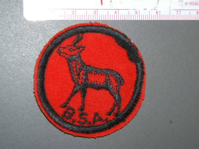Antelope Patrol Medallion