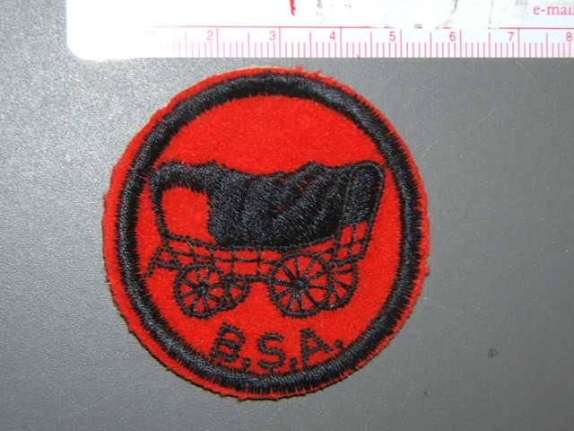 Covered Wagon Patrol Medallion