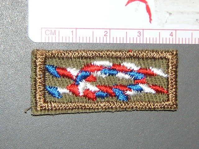 Eagle square knot