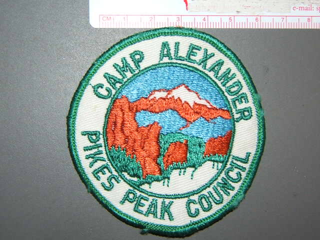 Camp Alexander Pikes Peak Council