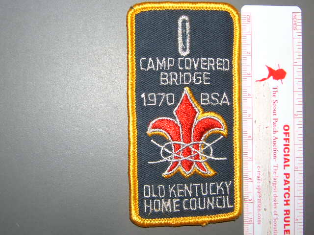 Camp Covered Bridge '70 Old Kentucky Home Council