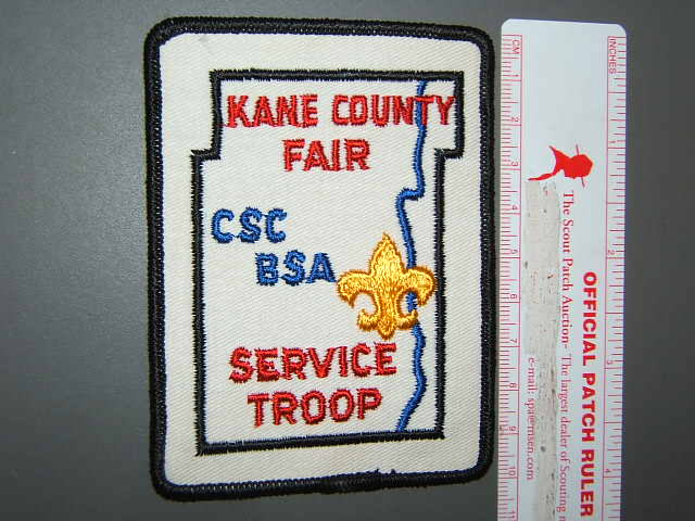 Chief Shabbona Council Kane County Fair Service Troop