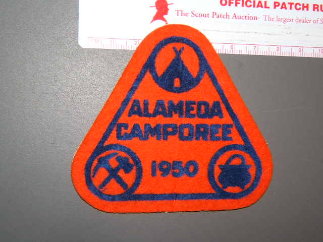 Alameda Council camporee 1950 felt