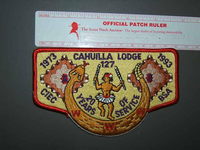 127 Cahuilla flap