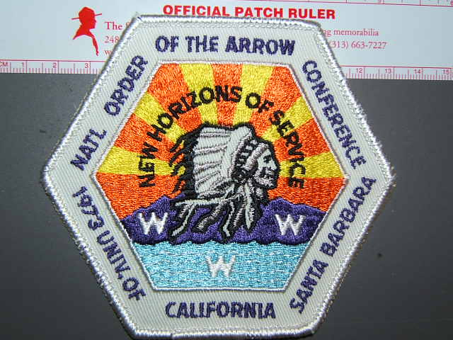 1973 NOAC patch