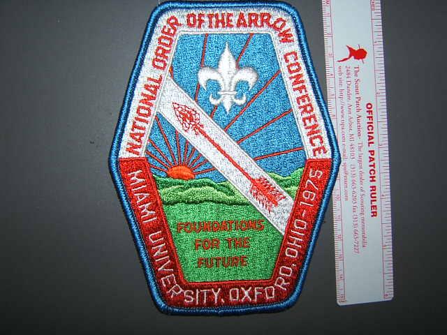 1975 NOAC back patch