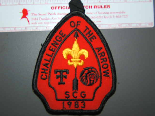 1983 South Central Region patch