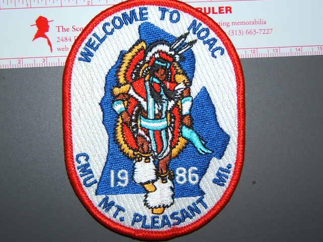 1986 NOAC CMU patch