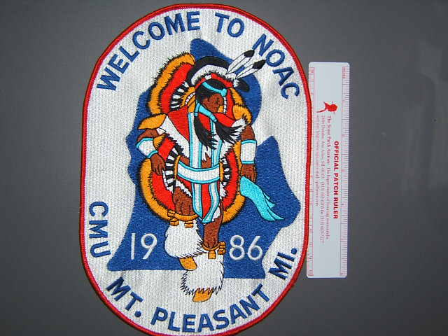 1986 NOAC back patch