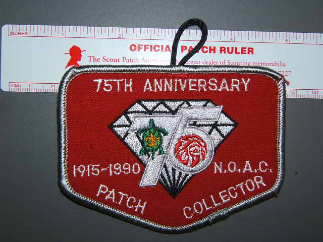 1990 NOAC Patch Collector patch