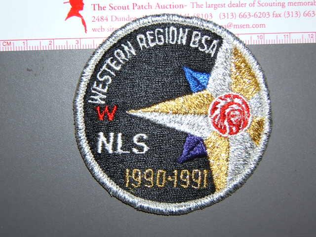 1990 Western Region NLS patch
