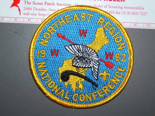 1992 NOAC NE Region patch