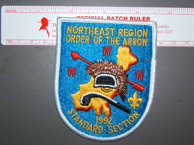 1992 NE Region Standard Section patch
