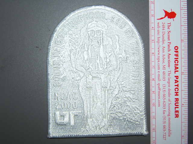 2002 NOAC ghost pocket patch