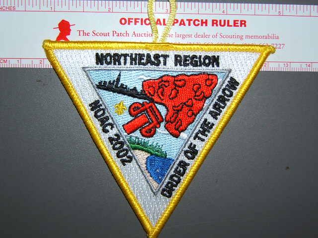 2002 NOAC NE Region patch
