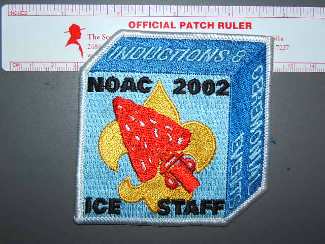 2002 NOAC ICE staff patch
