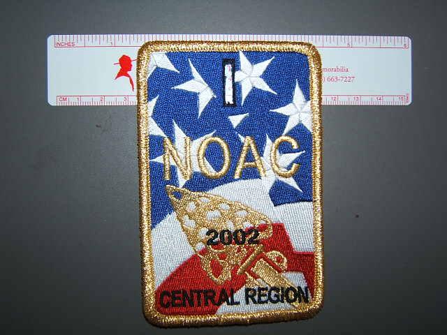 2002 NOAC Central Region patch
