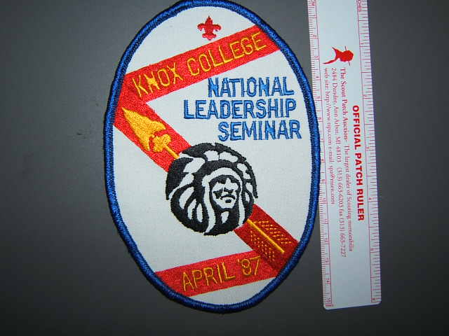 1987 NLS back patch