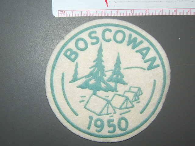 Camp Boscowan - 1950 felt GRN