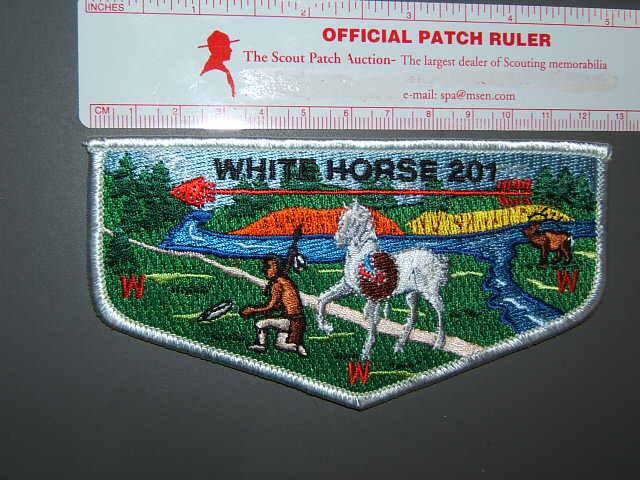201 White Horse flap