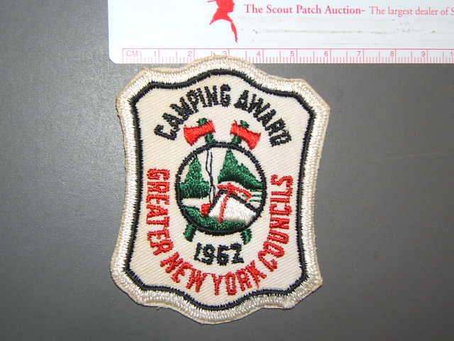 Camping Award 1962