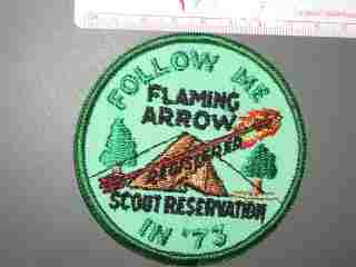 Flaming Arrow Scout Reservation 1973