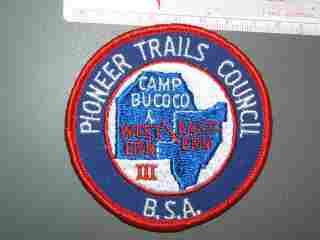 Camp Bucoco Pioneer Trails Council