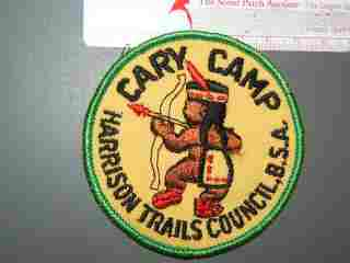 Cary Camp Harrison Trails Council Indiana