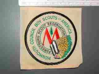 Forestburg Scout Reservation Monmouth Council New Jersey Woven