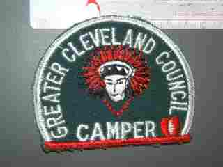 Greater Cleveland Council Camper Ohio