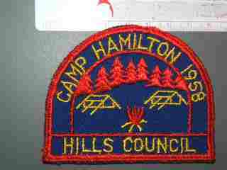 Camp Hamilton Hills Council