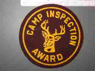 Camp Inspection Award FELT
