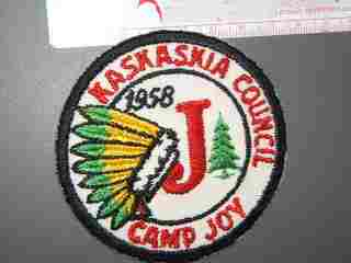 Camp Joy Kaskaskia Council Illinois