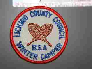 Licking County Council Winter Camper