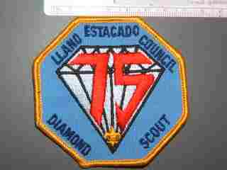 Llano Estacado Council Diamond Scout