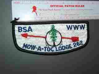 262 Mow-a-toc flap