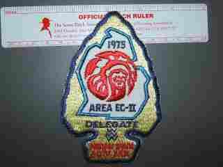 1975 EC-2 (Michigan) delegate patch
