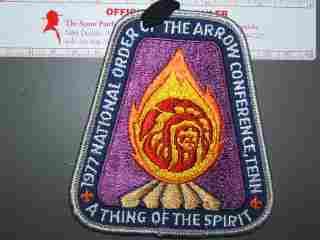 1977 NOAC patch