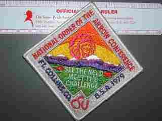 1979 NOAC patch