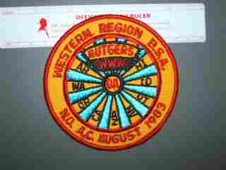 1983 NOAC Western Region patch