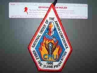 1986 NOAC patch