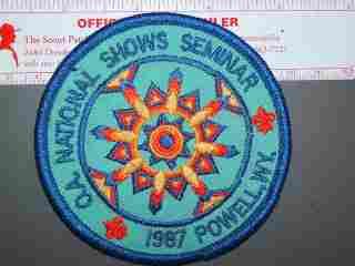 1987 OA National Shows Seminar