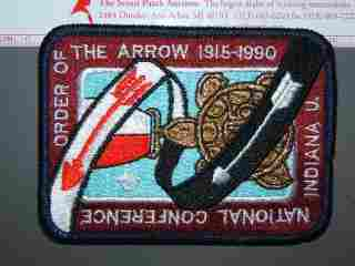 1990 NOAC pockt patch